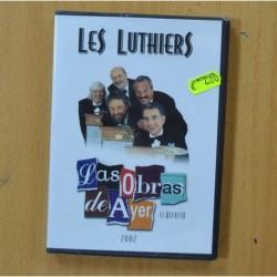 LES LUTHIERS - LAS OBRAS DE AYER 2002 - DVD