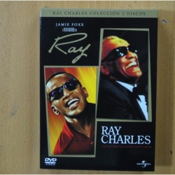 PACK RAY CHARLES - 2 DVD