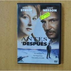 ANTES Y DESPUES - DVD