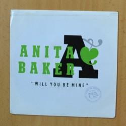 ANITA BAKER - WILL YOU BE MINE - SINGLE