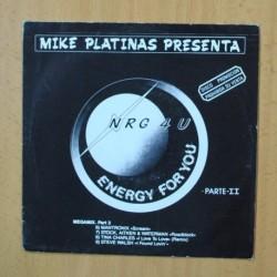 MIKE PLATINAS - NRG 4U ENERGY FOR YOU - SINGLE