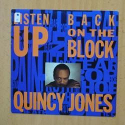 QUINCY JONES - BACK ON THE BLOCK - SINGLE