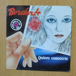 BORDON 4 - QUIERO CONOCERTE - SINGLE