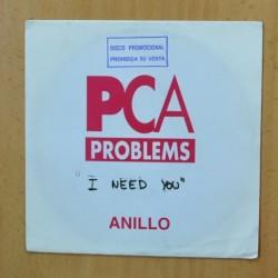 PCA PROBLEMS - I NEED YOU - SINGLE