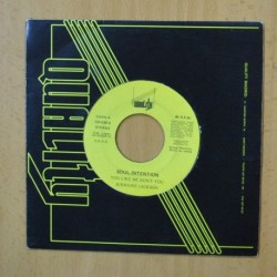 SOUL INTENTION - YOU LIKE ME DON´T YOU - SINGLE