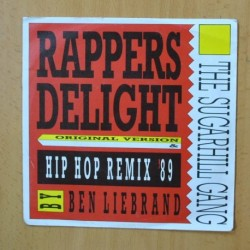 THE SUGARHILL GANG - RAPPERS DELIGHT - SINGLE