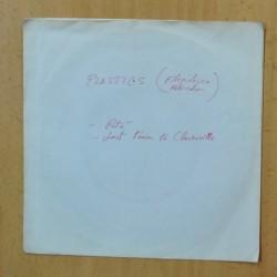 PLASTICS - PATE / LAST TRAIN TO CLARKSVILLE - FLEXI SINGLE
