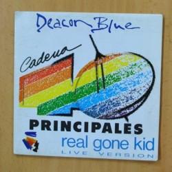 DEACON BLUE - REAL GONE KID - GATEFOLD - SINGLE