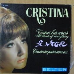 CRISTINA - TODAS LAS COSAS - SINGLE