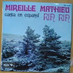MIREILLE METHIEU - CANTA EN ESPAÑOL RIN RIN - SINGLE