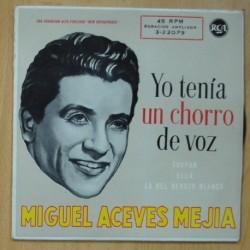 MIGUEL ACEVES MEJIA - YO TENIA UN CHORRO DE VOZ - SINGLE