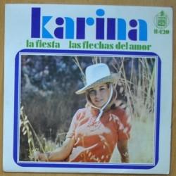 KARINA - LA FIESTA / LAS FLECHAS DEL AMOR - SINGLE
