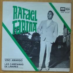 RAFAEL FARINA - VINO AMARGO / LAS CAMPANAS - SINGLE