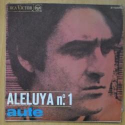 AUTE - ALELUYA Nº1 / ROJO SOBRE NEGRO - SINGLE