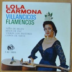 LOLA CARMONA - VILLANCICOS FLAMENCOS - EP