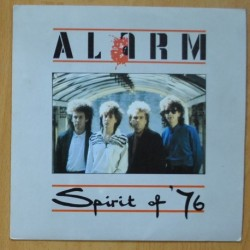 ALARM - SPIRIT OF '76 / WHERE WERE YOU HIDING WHEN THE STORM BROKE - SINGLE