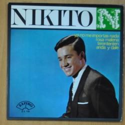 NIKITO - YA NO ME IMPORTAS NADA / ROSA MALENA / TERENTENTEN / ANDA Y DALE - EP