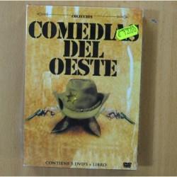 COMEDIAS DEL OESTE - 5 DVD + LIBRO