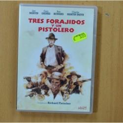 TRES FORAJIDOS Y UN PISTOLERO - DVD