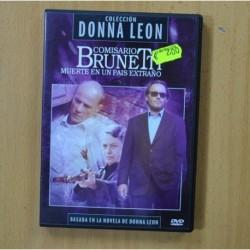 COMISARIO BRUNETTI - MUERTE EN UN PAIS EXTRAÑO - DVD