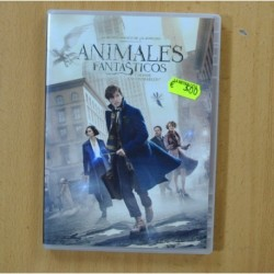 ANIMALES FANTASTICOS Y DONDE ENCONTRARLOS - DVD