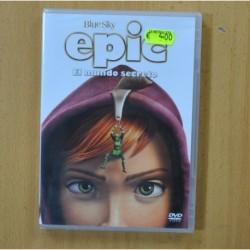 EPIC EL MUNDO SECRETO - DVD
