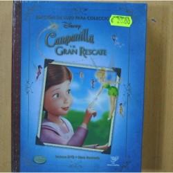 CAMPANILLA Y EL GRAN RESCATE - DVD + LIBRO