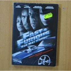 FAST & FURIOUS AUN MAS RAPIDO - DVD