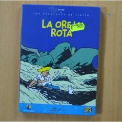 LAS AVENTURAS DE TINTIN LA OREJA ROTA - DVD