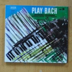 JACQUES LOUSSIER, CHRISTIAN GARRO, PIERRE MICHELOT - PLAY BACH Nº2 - CD