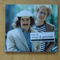 SIMON & GARFUNKEL - THIS IS SIMON & GARFUNKEL THE GREATEST HITS - CD