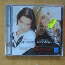 GAUTIER CAPUÇON Y GRABRIELA MONTERO - RACHMANINOV - RHAPSODY - CD