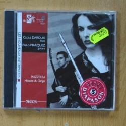 CECILE DAROUX & PABLO MARQUEZ - PIAZZOLLA - HISTORIE DU TANGO - CD