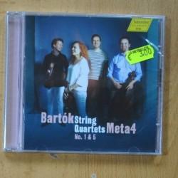 META 4 - BARTOK STRING - QUARTETS NO 1 & 5 - CD