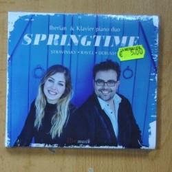 IBERIAN & KLAVIER - STRAVINSKY - RAVEL - DEBUSSY - SPRINGTIME -CD