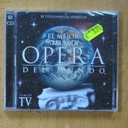 VARIOUS - EL MEJOR ALBUM DE OPERA DEL MUNDO - 2 CD