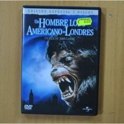 UN HOMBRE LOBO AMERICANO EN LONDRES - 2 DVD