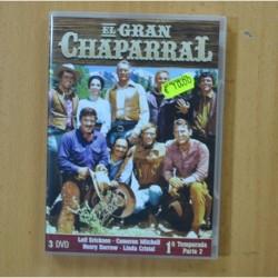 EL GRAN CHAPARRAL - PRIMERA TEMPORADA SEGUNDA PARTE - 3 DVD