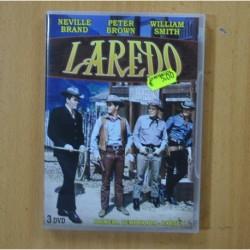 LAREDO - PRIMERA TEMPORADA PRIMERA PARTE - 3 DVD