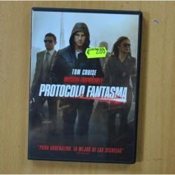 MISION IMPOSIBLE PROTOCOLO FANTASMA - DVD