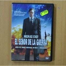 EL SEÑOR DE LA GUERRA - DVD
