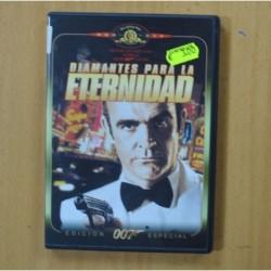 007 DIAMANTES PARA LA ETERNIDAD - DVD