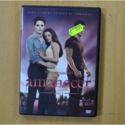 AMANECER PARTE 1 - DVD
