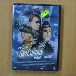 SKY CAPTAIN Y EL MUNDO DEL MAÑANA - DVD