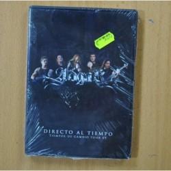 ADGAR - DIRECTO AL TIEMPO TIEMPOS DE CAMBIO TOUR 09 - DVD