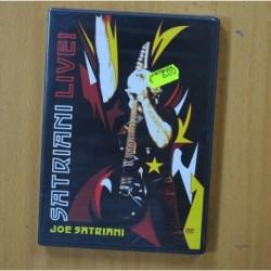 JOE SATRIANI - SATRIANI LIVE - DVD