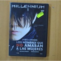 LOS HOMBRES QUE NO AMABAN A LAS MUJERES - DVD
