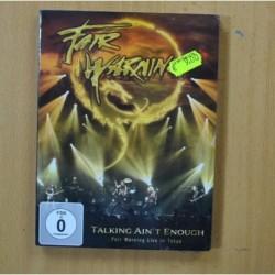 FAIR WARNING - TALKING AINT ENOUGH - DVD