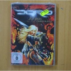 DORO - 20 YEARS A WARRIOR SOUL - DVD