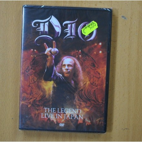 DIO - THE LEGEND LIVE IN JAPAN - DVD